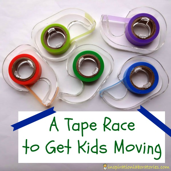 A Tape Race to Get Kids Moving