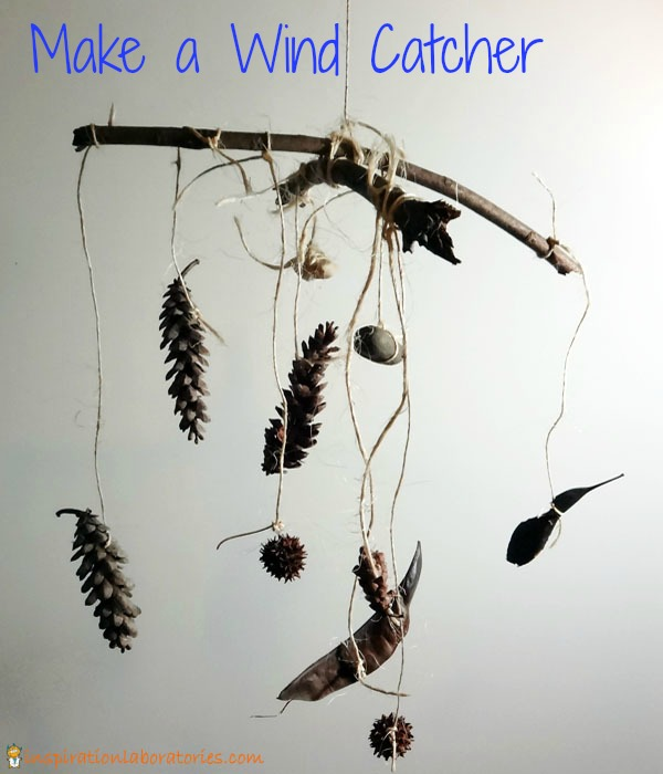 Spring Activities for Kids: Make a Wind Catcher