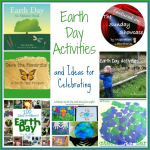Earth Day Activities on The Sunday Showcase