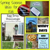 The Sunday Showcase - Spring Science Ideas for Kids