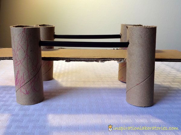 How to Build a Bridge from Cardboard