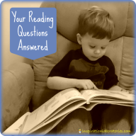 Your Reading Questions Answered & A Giveaway