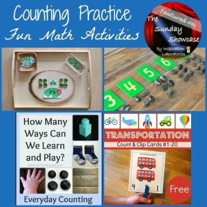 The Sunday Showcase: Counting Practice