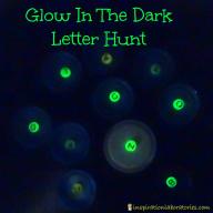 Glow in the Dark Letter Hunt