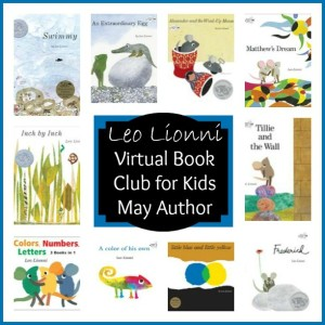 Virtual Book Club for Kids: May Author is Leo Lionni