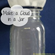Science at Home: Make a Cloud in a Jar