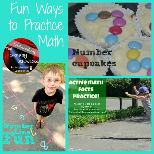 Fun Ways to Practice Math Featured on the Sunday Showcase at Inspiration Laboratories