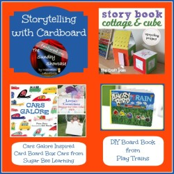 The Sunday Showcase - Storytelling with Cardboard