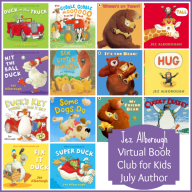 Virtual Book Club for Kids: July Author is Jez Alborough