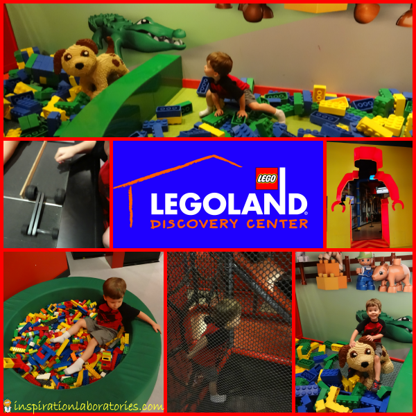 Legoland Discovery Center Visit