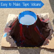 Easy Tape Volcano