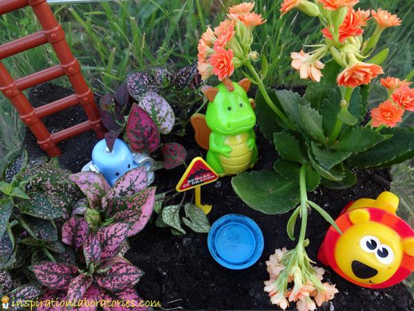 Garden Project for Kids: Make a Toyrarium | Inspiration Laboratories