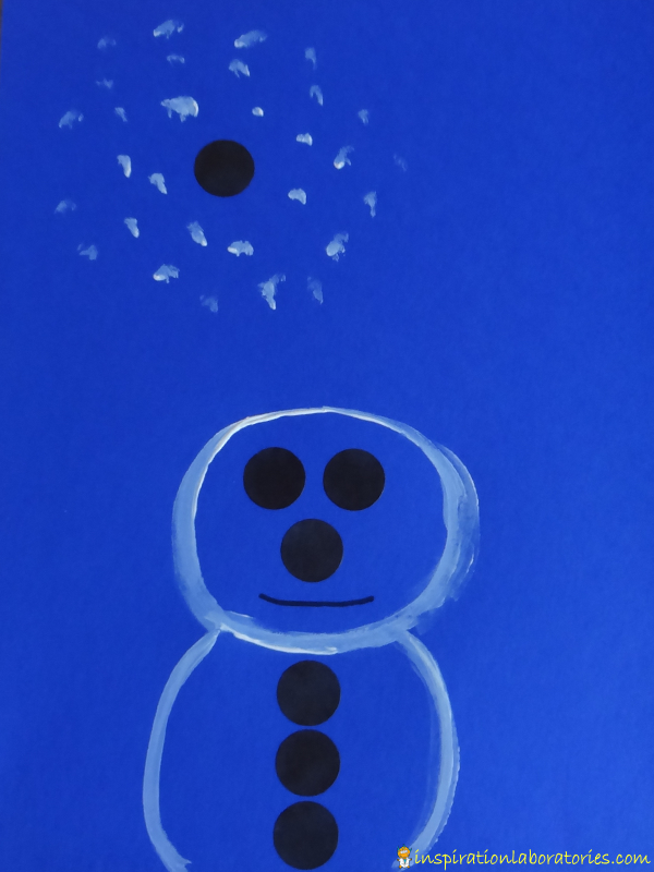 Ten Black Dots Art