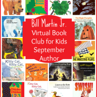 Virtual Book Club for Kids: September Author is Bill Martin Jr.