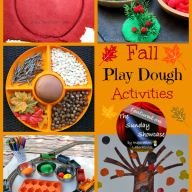 The Sunday Showcase - Fall Playdough Activities