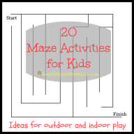 20 Maze Activities for Kids