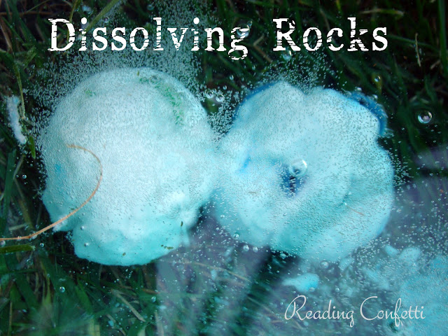 dissolving rocks