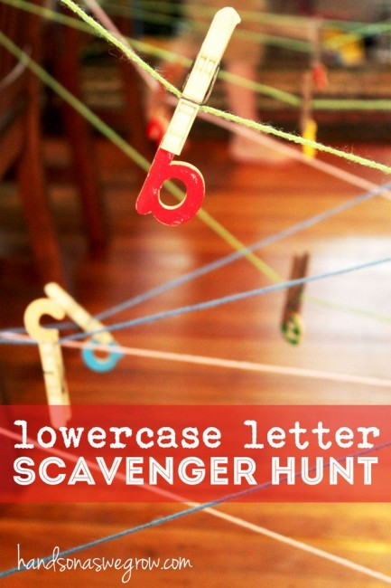 Scavenger Hunt Maze from hands on : as we grow