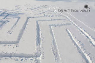 Snow Maze from Life with Moore Babies