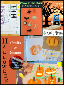 The Sunday Showcase - Halloween Crafts & Games
