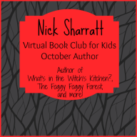 Virtual Book Club for Kids: October Author is Nick Sharratt