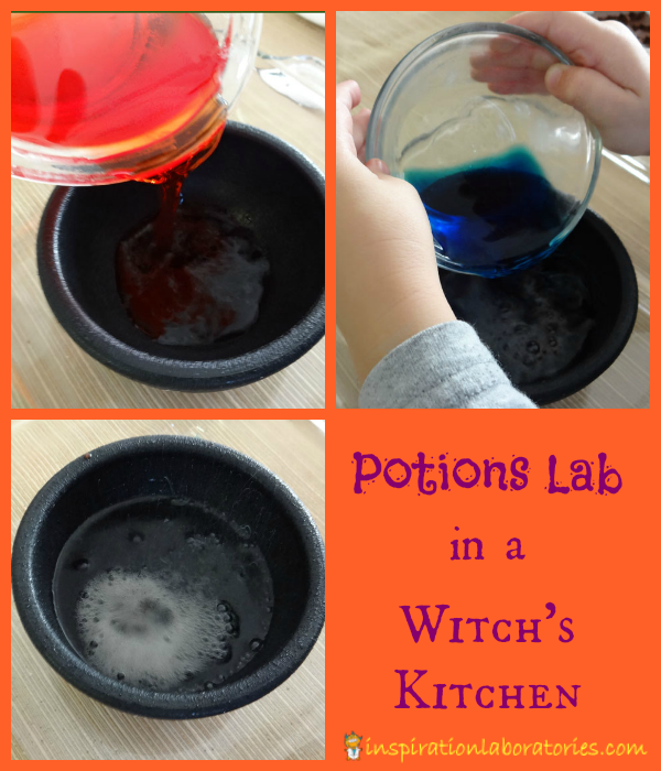 Kitchen Lab Kids what's in the witch's kitchen? | inspiration laboratories