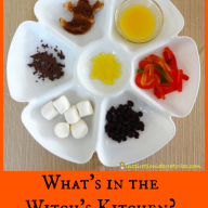 What's in the Witch's Kitchen? by Nick Sharratt {Virtual Book Club for Kids}