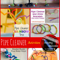 The Sunday Showcase - Pipe Cleaner Activites