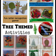 The Sunday Showcase - Tree Themed Activities