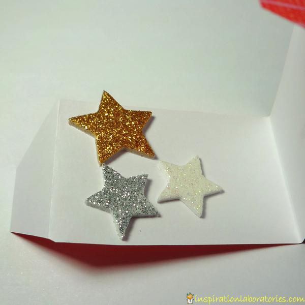 Christmas Science Advent Calendar Day One Stars