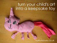 Keepsake Toy from Children's Art