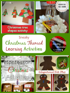 The Sunday Showcase - Christmas Learning Activities