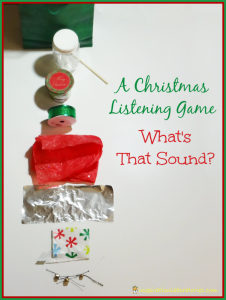Christmas Listening Game - Day 16 of our Christmas Science Advent Calendar