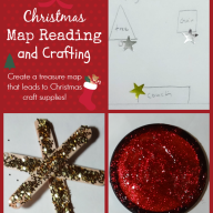 Christmas Map Reading and Crafting