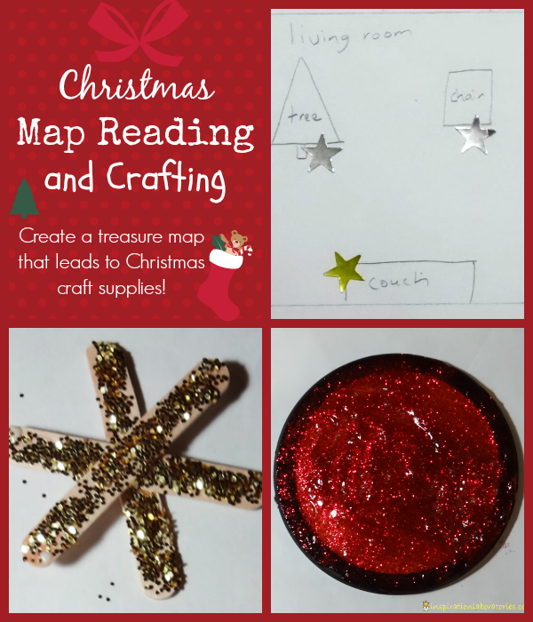 Christmas Map Reading and Crafting - Day 9 of our Christmas Science Advent Calendar