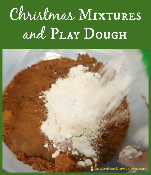 Christmas Mixtures and Play Dough - Day 21 of our Christmas Science Advent Calendar - Explore mixtures and create your own play dough.