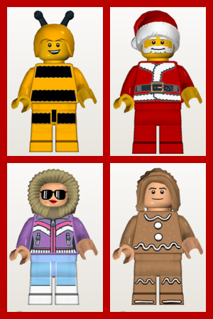 Lego Minifig Random Generator Baseplate Rachael Edwards