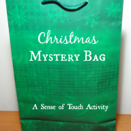 Christmas Mystery Bag - Sense of Touch Activity