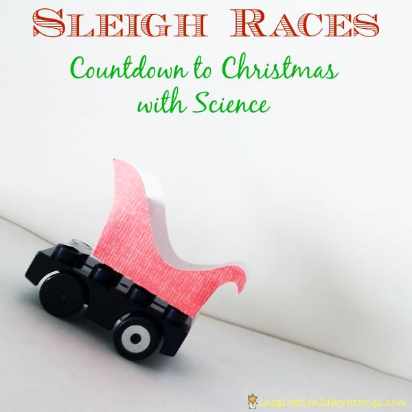Sleigh Races: Christmas Science Advent Calendar Day 3