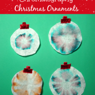 Chromatography Christmas Ornaments