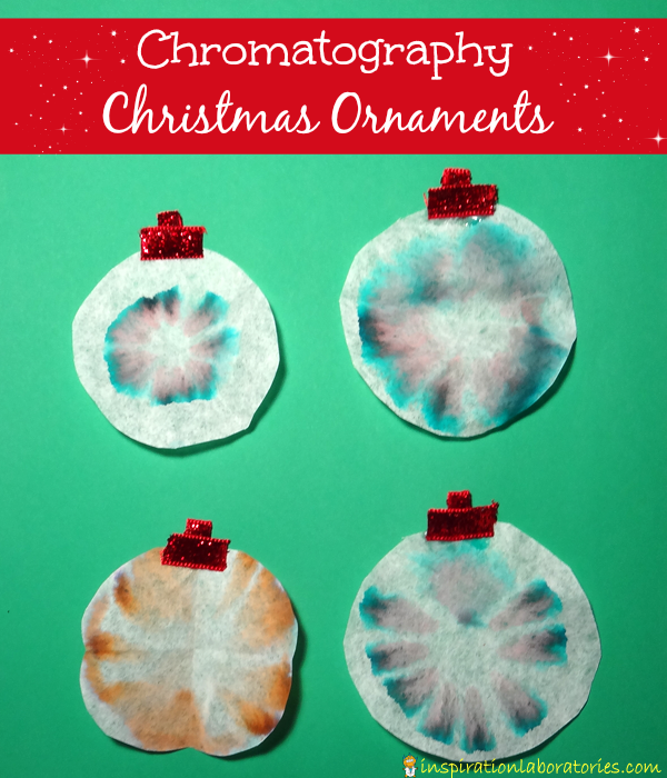 Chromatography Christmas Ornaments | Inspiration Laboratories