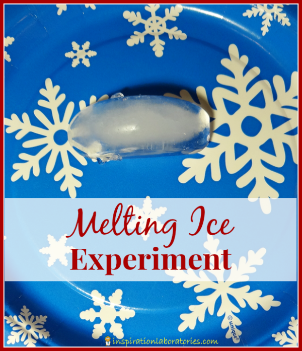 Melting Ice Experiment - Day 23 of our Christmas Science Advent Calendar - Explore conduction of materials in this easy science experiment.