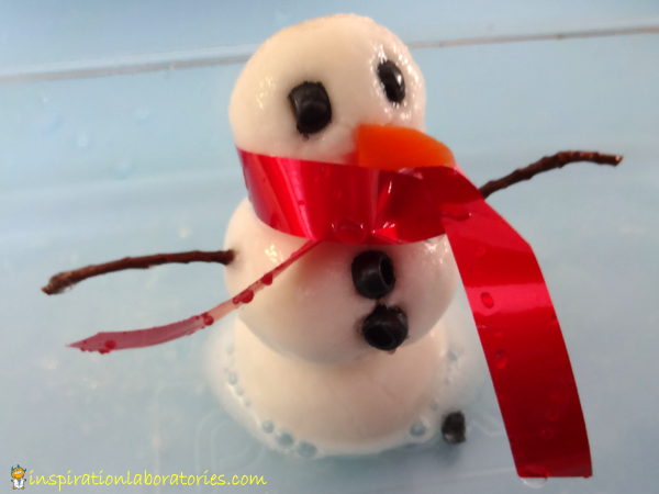 Fizzy Melting Snowman - Day 17 of our Christmas Science Advent Calendar