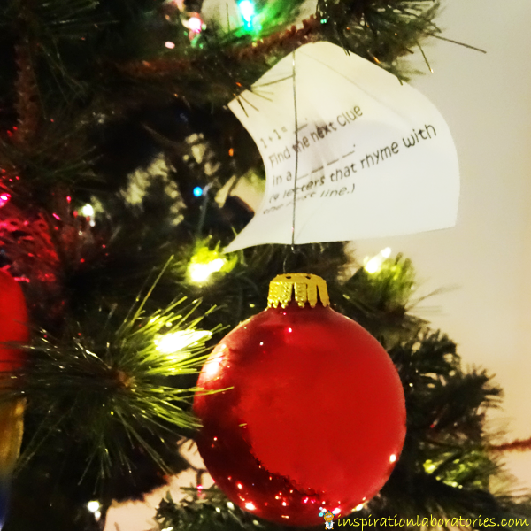 Christmas Detectives: The Case of the Missing Christmas Present. Day 4 of our Christmas Science Advent Calendar