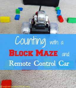 Counting with a Block Maze and Remote Control Car