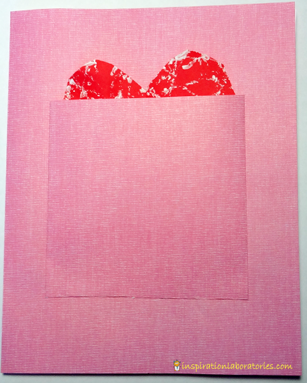 Hide and Seek Valentine's Day Card Inspired by Happy Valentine's Day, Mouse by Laura Numeroff