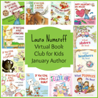 Virtual Book Club for Kids: January Author is Laura Numeroff