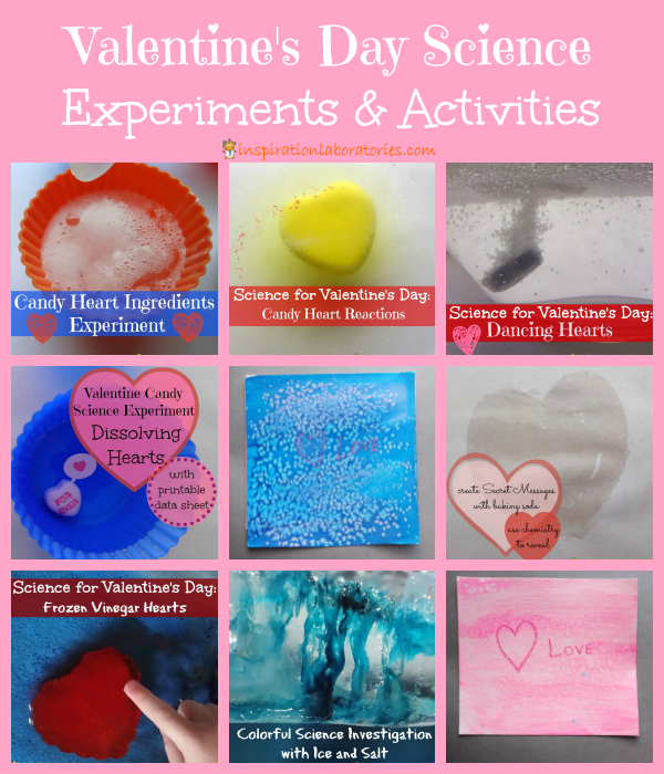 Valentine's Day Science Experiments & Activities