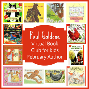 Virtual Book Club for Kids: February Author is Paul Galdone