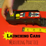 Launching Cars Measuring Practice